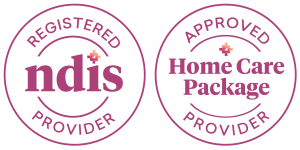 HenderCare NDIS and Approved Homecare Package Provider logos